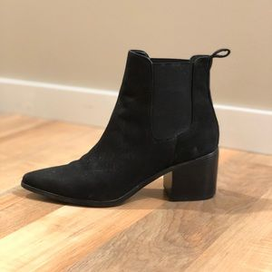 Aldo Black Ankle Booties